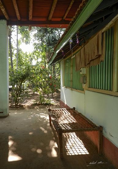 At a house at Diveagar