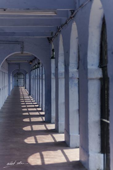 Corridor at Cellular Jail, Port Blair, Andamans