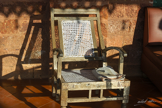 The Place to be - Chair at Hindu Gymkhana