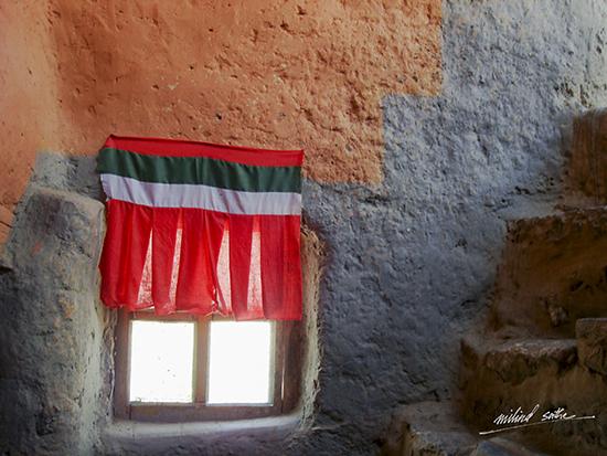 Window from Dhangkar monastery