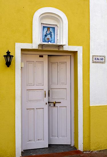 White Door and Yellow Wall, Goa