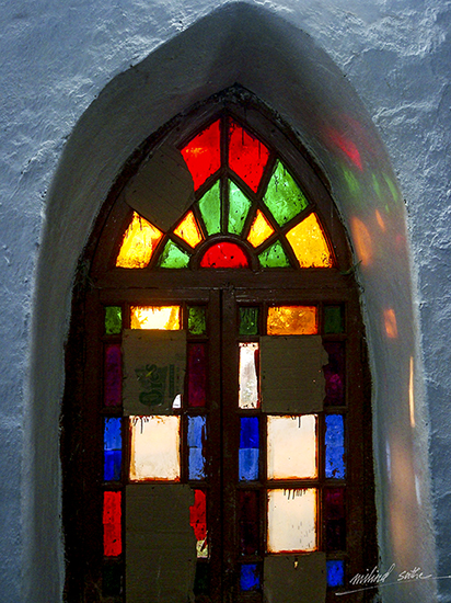 Stained Glass at church