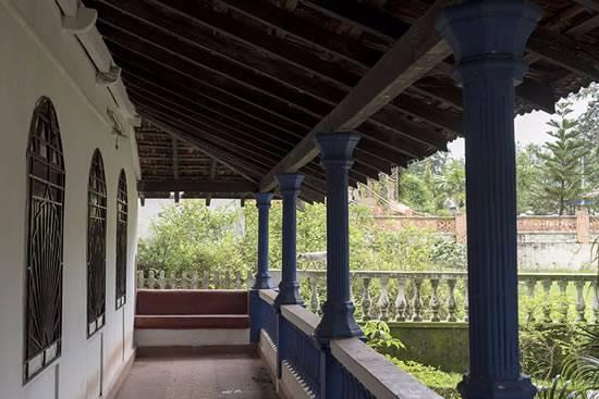 Corridor at an old Goan house