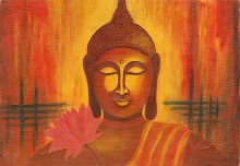 Buddha, Painting by Sangita Patil