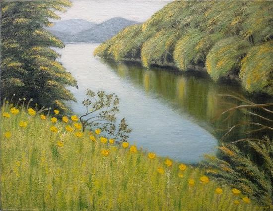 Indiaart - River Artwork