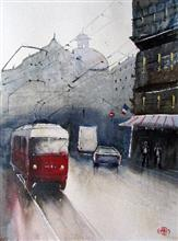 Cityscapes - In stock painting