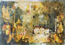 Children - In stock painting