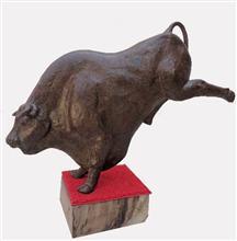 Bull - In stock painting