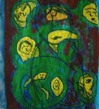 painting by Shobha Majumdar