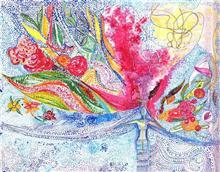 Universe, painting by Karuna Rao