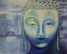 Path to Nirvana, painting by Leena Parekh