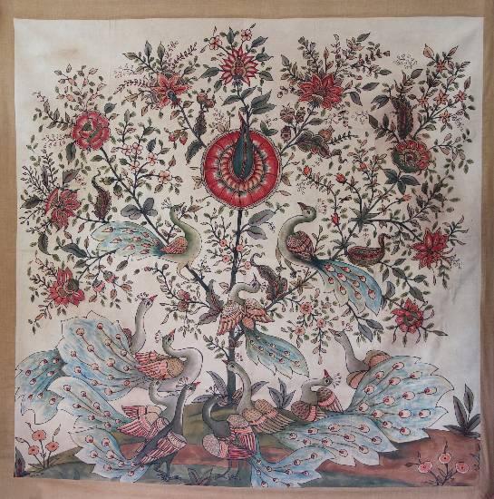 Tree of Life - 42, painting by Praveena Mahicha