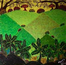 Konkan, Painting by Mamta Chitnis Sen