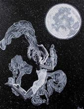 Moon Child - 2, Painting by Sonal Poghat