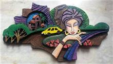 Stone Carving, painting by Prisa Khara