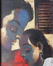 Paintings by G A Dandekar - Couple