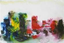 Painting by Shefali Shah - Urban City