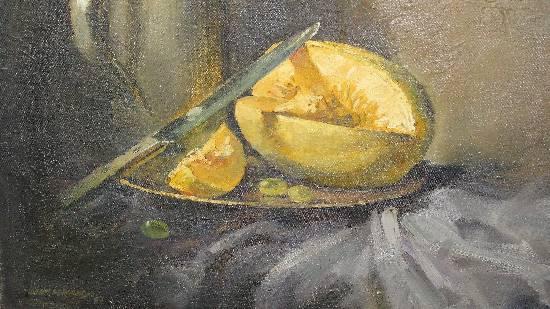 Still Life, Painting by Artist John Fernandes