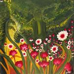 Paintings by Shalini Goyal - Garden - 3