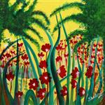 Paintings by Shalini Goyal - Garden - 1