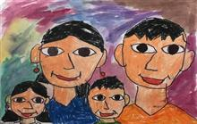 Painting  by Utkkarsh Darshan Mehta - Family
