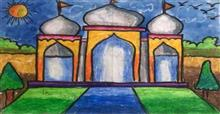Painting  by Utkkarsh Darshan Mehta - Taj Mahal