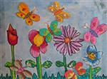 painting by Utkkarsh Darshan Mehta - Flowers