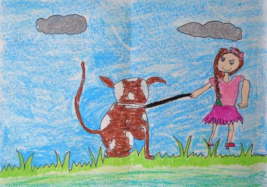 painting by Kanishka Kiran Tambe - My pet
