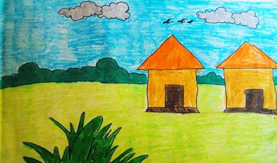 Painting  by Kanishka Kiran Tambe - House