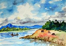 Kashmir - In stock painting
