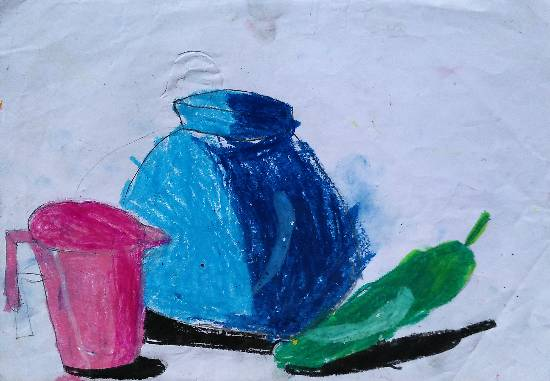 Painting  by Chinmayee Anand Naravane - Still Life