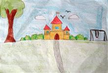 Painting  by Chinmayee Anand Naravane - Castle