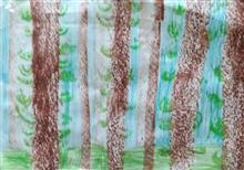 Painting  by Chinmayee Anand Naravane - Trees