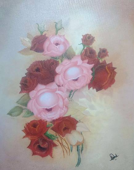 Painting  by Hamdi Imran - Flowers