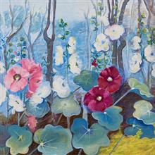Blooms - 2,Painting by Asmita Jagtap