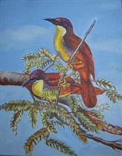 Birds - In stock painting