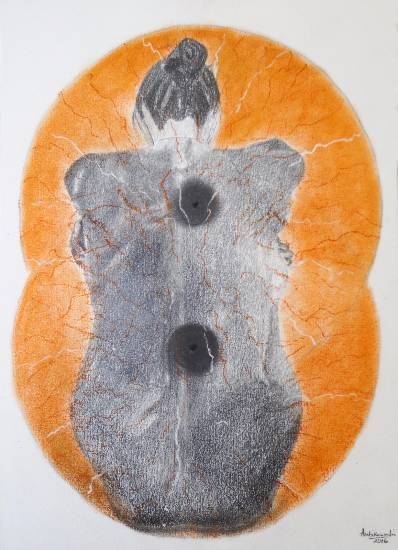 Liberation, painting by Ambika Wahi