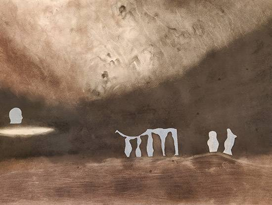 The Seekers 2, painting by Ambika Wahi