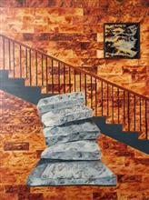 Threshold, Painting by Ambika Wahi