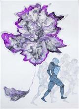Homecoming - 2, Painting by Ambika Wahi