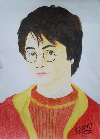 Painting  by Chinmayee Amol Sane - Harry Potter
