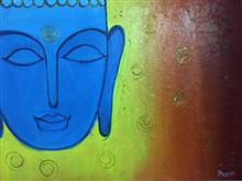 Painting  by Prisha Hiren Ajmera - Lord Buddha