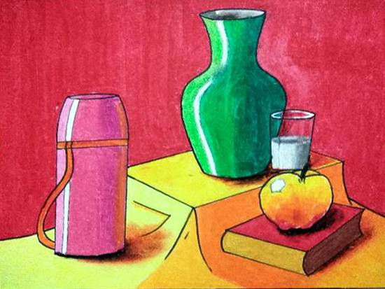 Painting  by Janhavi Deodhar - Still life