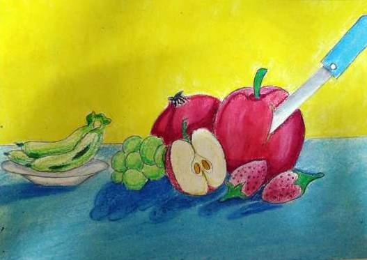 Painting  by Aaryan Umesh Kulkarni - Still Life - 3