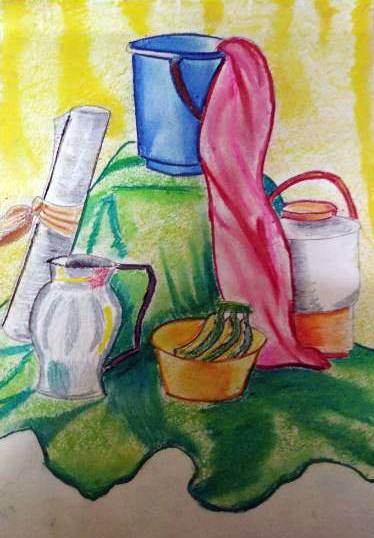Painting  by Aaryan Umesh Kulkarni - Still Life - 1