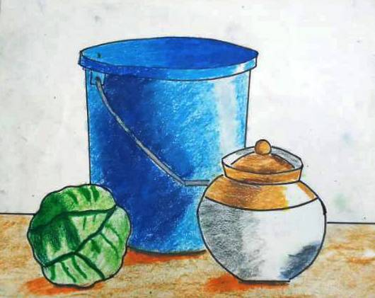 Still Life, painting by Aaryan Umesh Kulkarni