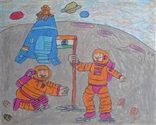 Painting  by Aaryan Umesh Kulkarni - Outer space