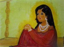 Rani Ma - 3, painting by Priyanka Dutta