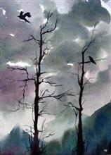 painting by Asmita Ghate