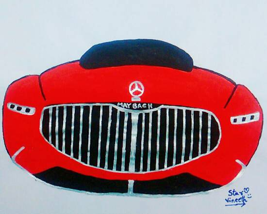 painting by Kovuru Vineeth Kumar - Untitled - 3